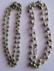 Picture of Chandan Mala Small Silver chain 12""