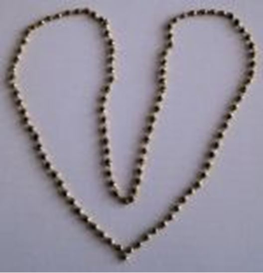 Picture of Rudrakshamala small Silver Gold color chain