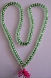 "Picture of Spatik Mala Green 108 Beads 16"" long"