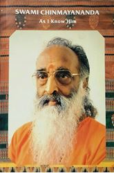 Picture of Swami Chinmayananda as I know